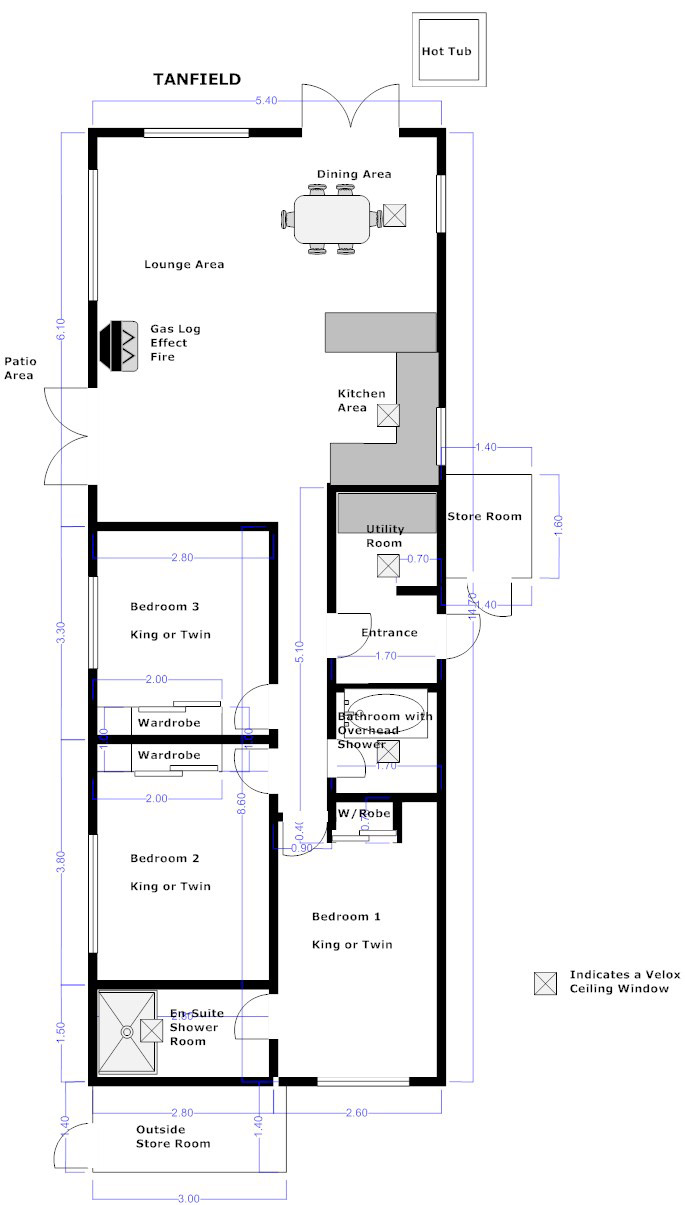 Tanfield lodge floorplan