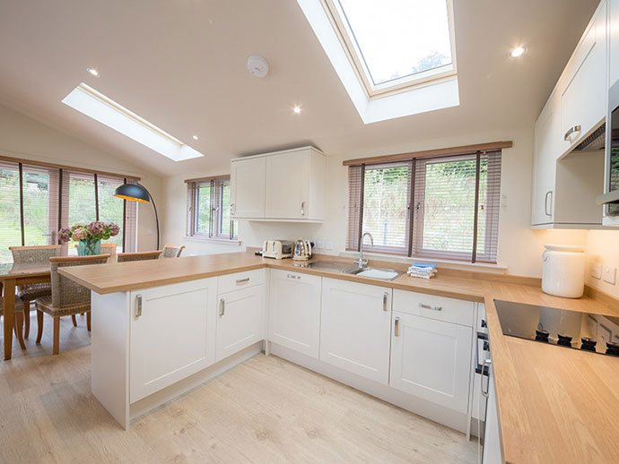 Tanfield Lodge fully fitted kitchen